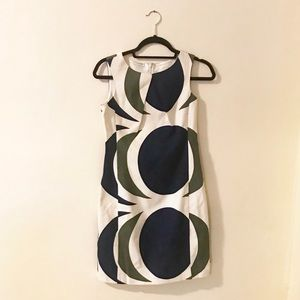 Structured, sophisticated dress